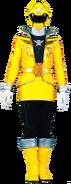 Yellow Super Megaforce Ranger