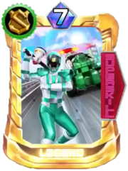 Patren2gou Card in Super Sentai Legend Wars