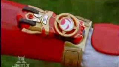 Power Rangers Ninja Storm - Red Battlized Ranger Morph