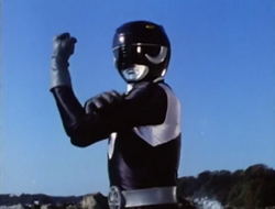 Black Mutant Ranger