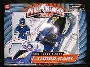 Blue Turbo Ranger Turbo Cart