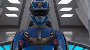 Gosei Blue cockpit