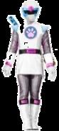 White Ninja Storm Ranger