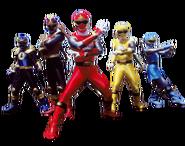 Power Rangers Ninja Storm (Team)