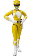 Mighty Morphin Yellow Ranger Female SH Figuarts