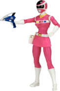 Legacy In Space Pink Ranger