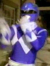 Blue Wild West Ranger