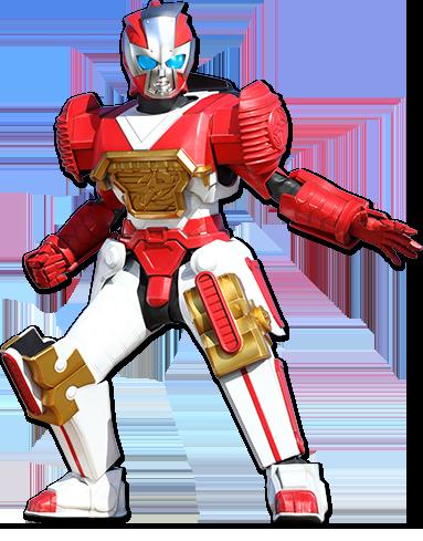 Robot power rangers ninja storm red ranger name