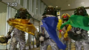 Zorima used Beautiful Zorima's color Kyoryuger capes