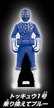ToQ 1 Blue Ranger Key