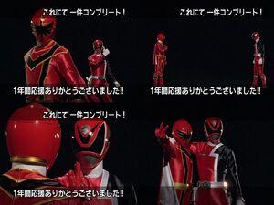 Red Senshi Handover- Dekaranger - Magiranger