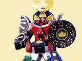 Samurai Megazord/toys