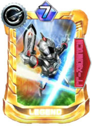 Go-on Silver Card in Super Sentai Legend Wars