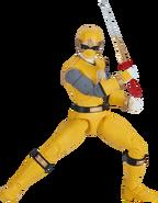 Legacy Yellow Ninja Storm Ranger