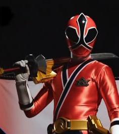 17 Красный Рейнджер Самурай