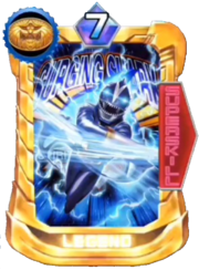 GaoBlue Card in Super Sentai Legend Wars
