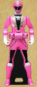 Gokai Pink Ranger Key