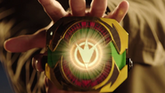 Master Morpher activated (Black Dino Ranger)