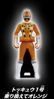 ToQ 1 Orange Ranger Key