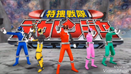 Dekaranger with SWAT Mode