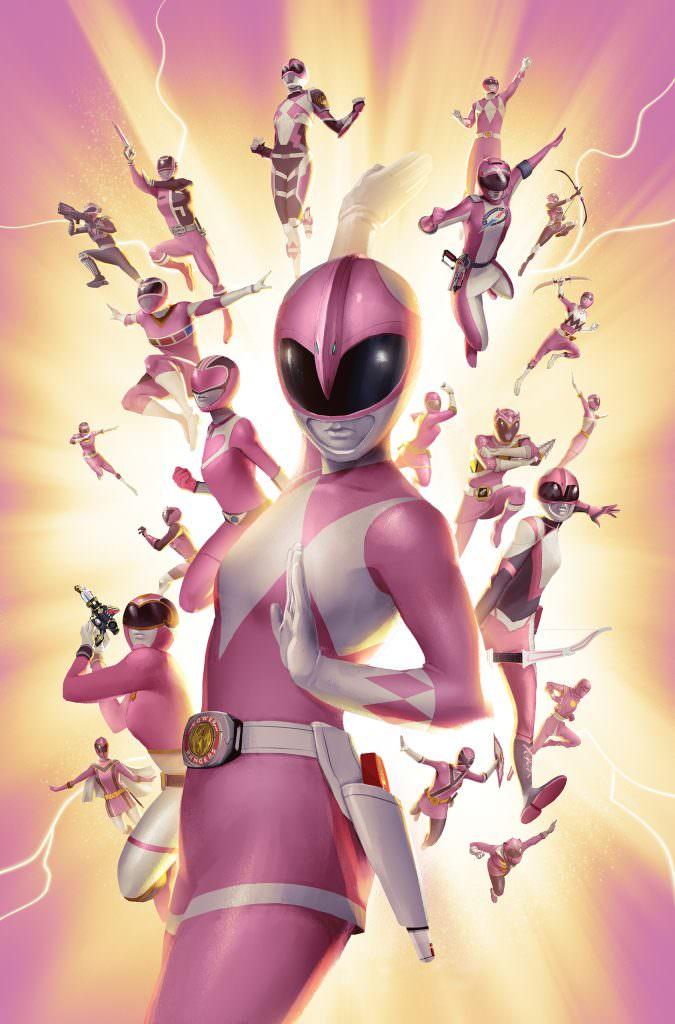 Pink ranger naked