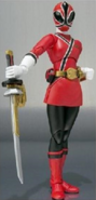Female Red Samurai Ranger SH Figuarts