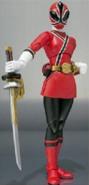 Female Red Samurai Ranger SH Figuarts