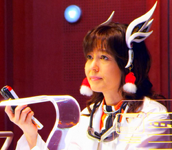 Swan Shiratori in Space Squad