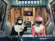 Goggle V Black-Pink Cockpit