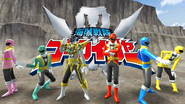 Gokaiger with Gold Mode