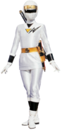 White Mighty Morphin Alien Ranger