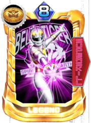 GaoWhite Card in Super Sentai Legend Wars