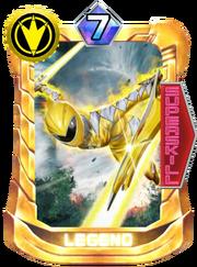 AbareYellow Card in Super Sentai Legend Wars