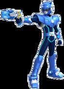 Blue Miniforce Ranger