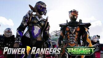 Power Rangers vs Robo Blaze and Roxy Power Rangers Beast Morphers Season 2 Episode 2-1