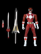 SDCC Legacy Collection MMPR Red Ranger with swords