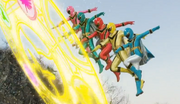 Magiranger in Super Hero Taisen