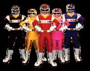 Power Rangers in Space (Team)