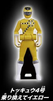 ToQ 4 Yellow Ranger Key