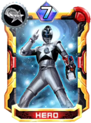 HebitsukaiSilver Card in Super Sentai Legend Wars