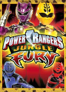 Power Rangers Jungle Fury poster