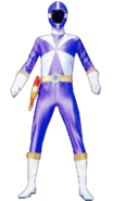 Blue Lightspeed Ranger