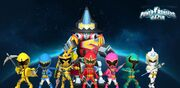 Power Rangers Mystic Force in Power Rangers Dash
