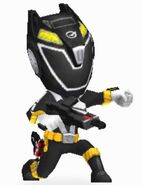 Black RPM Ranger in Power Rangers Dash