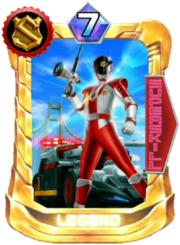 Patren1gou Card in Super Sentai Legend Wars