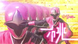 Momoninger Pink Shinobi Warriors