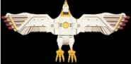 White Ninja Falconzord 2