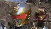 Gosei Knight and Navi