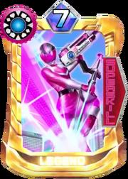 TimePink Card in Super Sentai Legend Wars