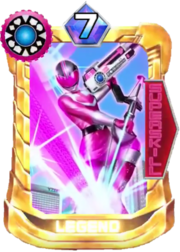 TimePink Card in Super Sentai Legend Wars